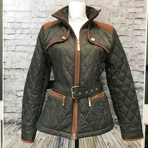 Vince Camuto Quilted Barn Jacket Medium